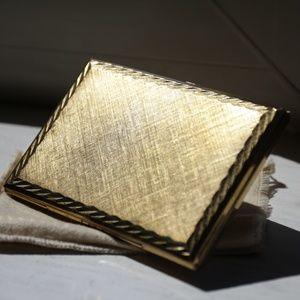 Vintage Gold Metal Case
